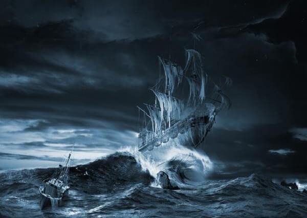 смерть на корабле