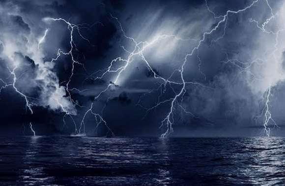 темная молния