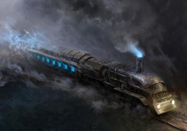 поезд ризрак, поезда призраки