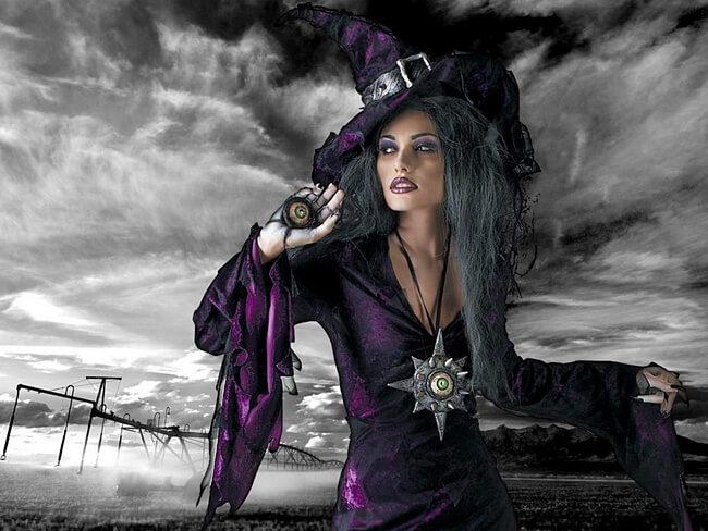 инквизиция ведьм, красивая ведьма