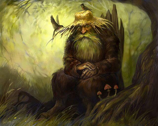славянская мифология существа, леший.