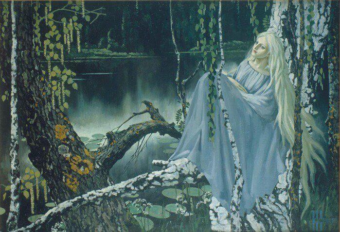 славянский лесной дух русалка.