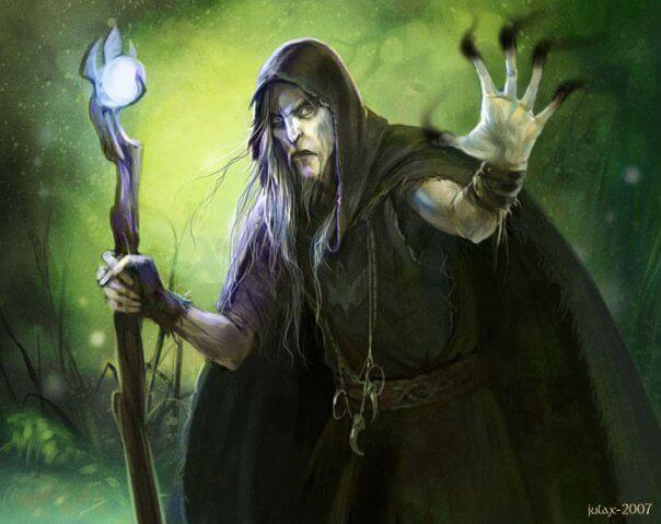 Славянский волшебник, маг.