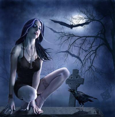 Как выглядит вампир?