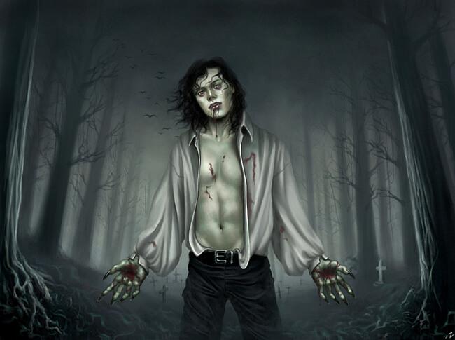 Демонический вампир