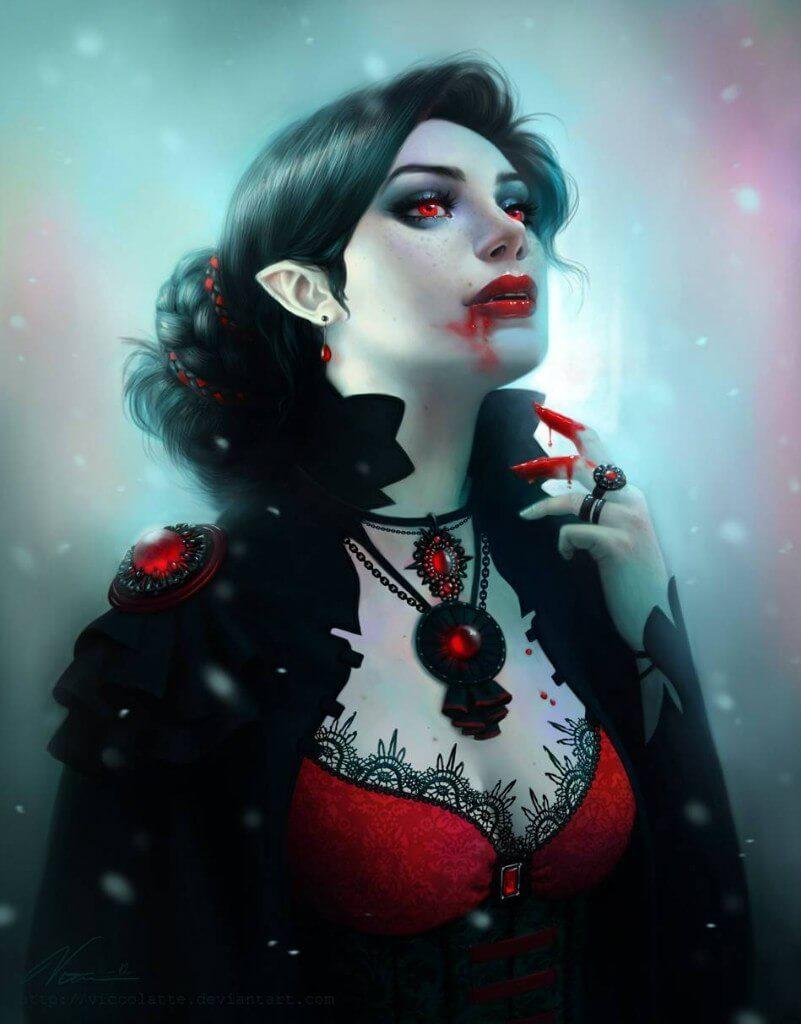 Как убить вампира святой водой?