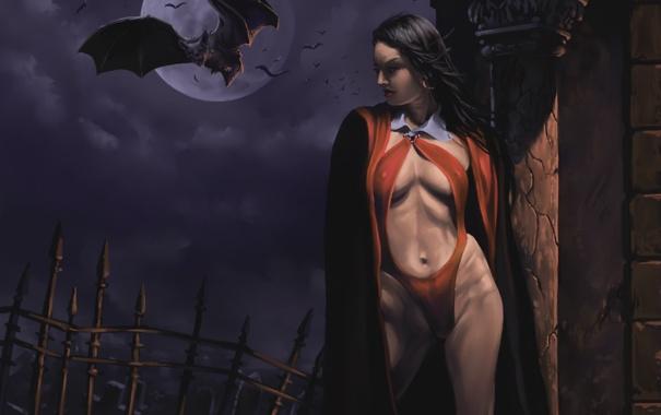 Магия черных вампиров.