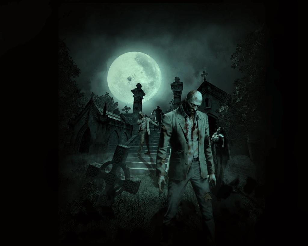 Зомби арт, картинки зомби.
