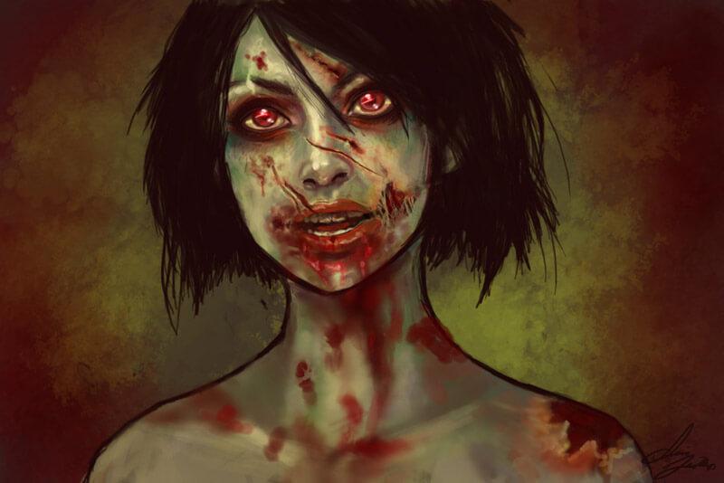 зомби история аррт красивый