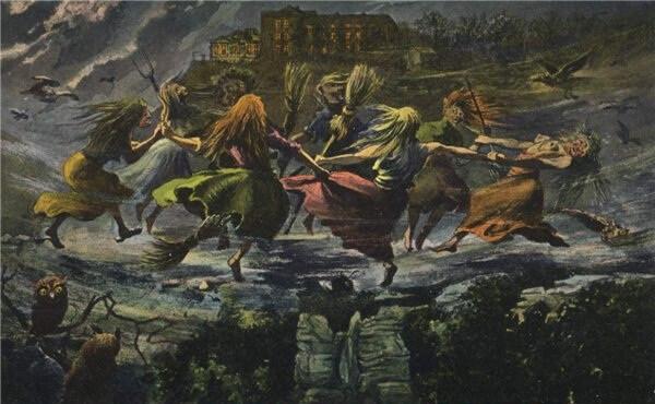 Нечисть на вальпургиеву ночь