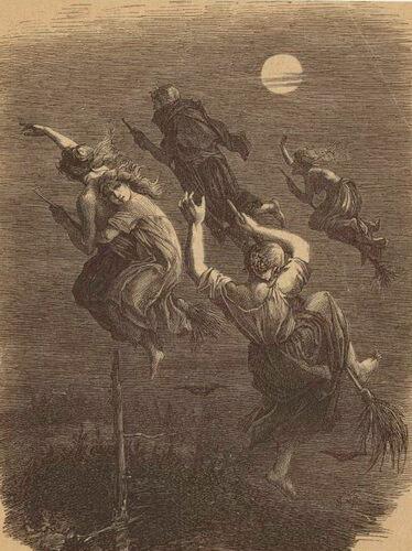 Ведьмы на шабаше.