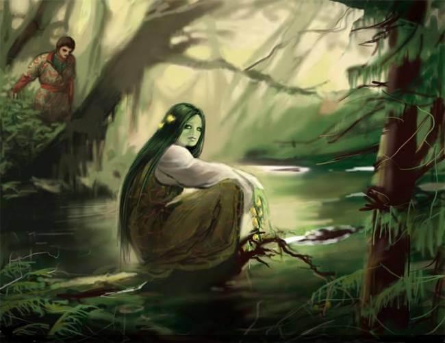 Дух воды, болот и рек.
