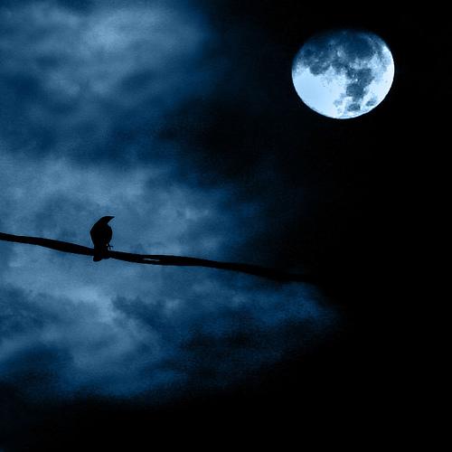 Сила полнолуния, луны.