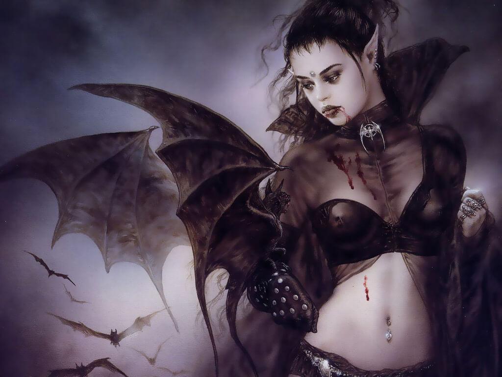 Женщина вампир