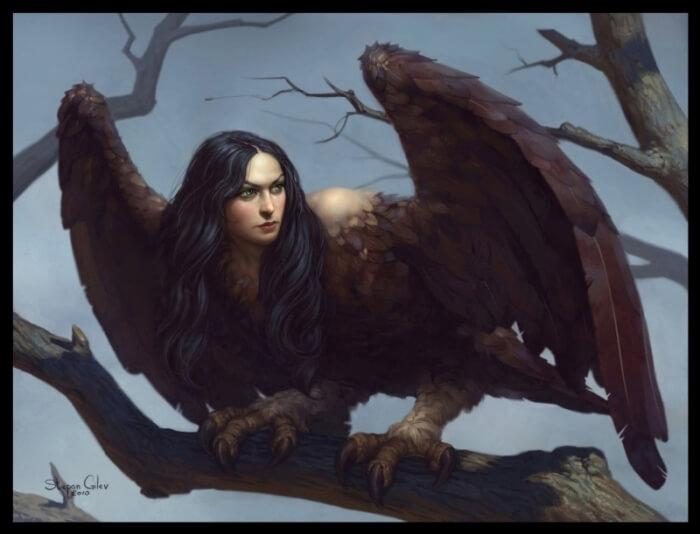 Сирин птица из мифологии