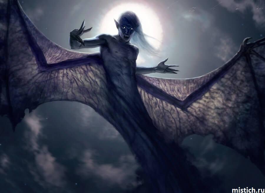Вампир страшный